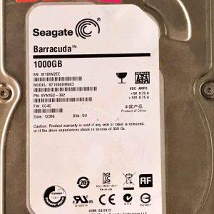 SEAGATE 1000 GB ST1000DM003 100664987 REV-A