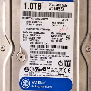 WESTERN DIGITAL 1000 GB WD10EZEX 2060771590001 REV-A