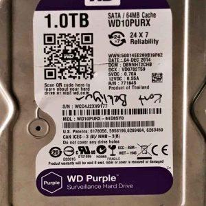 WESTERN DIGITAL 2000 GB WD10PURX-64D85Y0 2060701537000 REV-P1