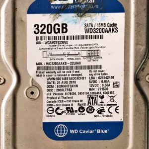 WESTERN DIGITAL 2000 GB WD3200AAKS 2060771590001 REV-P2