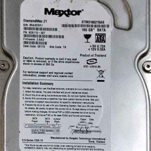 MAXTOR 160 GB STM3160215AS 100422559 REV-C