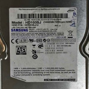 SAMSUNG 1000 GB HD103SJ F3_2D REV-01