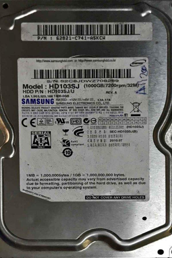 SAMSUNG 1000 GB HD103SJ F3_2D REV-01