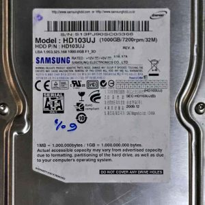 SAMSUNG 1000 GB HD103UJ TIRINITY BF4100206B REV-5