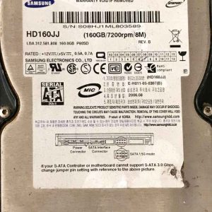 SAMSUNG 160 GB HD160JJ BF4100095A REV02
