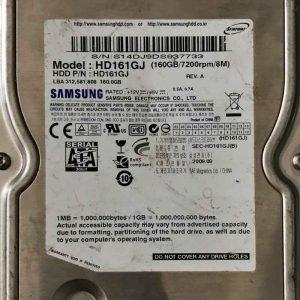 SAMSUNG 160 GB HD161GJ BF41001788R00TIRINITY_ID_ REV08