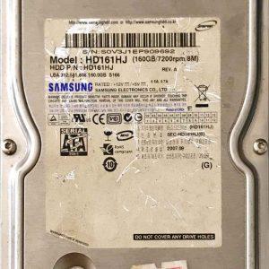 SAMSUNG 160 GB HD161HJ BF4100154ASG_8M REV06