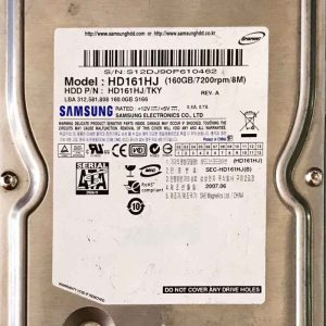SAMSUNG 160 GB HD161HJ BF4100163AR00SM_8M REV01