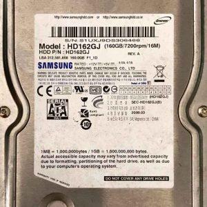 SAMSUNG 160 GB HD162GJ BF4100163AR00SM_8M REV01