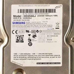 SAMSUNG 250 GB HD253GJ F3_10R00REV01