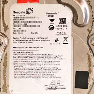 SEAGATE 1000 GB ST1000DM000 100603204 REV-A