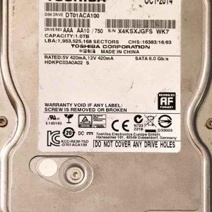 TOSHİBA 1000 GB DT01ACA100