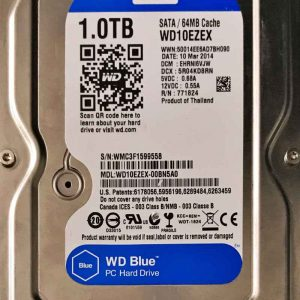 WESTERN DIGITAL 1000 GB WD10EZEX 2060771945001 REV-A