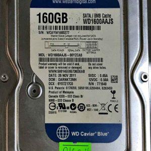 WESTERN DIGITAL 160 GB WD1600AAJS 2060771640003 REV-A