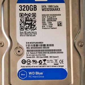 WESTERN DIGITAL 320 GB WD3200AAKX 2060701640001 REV-A