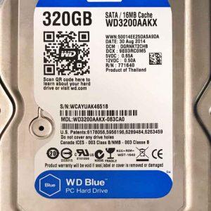 WESTERN DIGITAL 320 GB WD3200AAKX 2060701640001REV-A