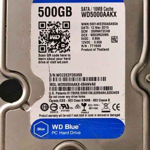 WESTERN DIGITAL 500 GB WD5000AAKX 2060701567000 REV-A