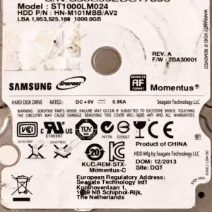 SAMSUNG 1000 GB ST1000LM024 M-REV-07