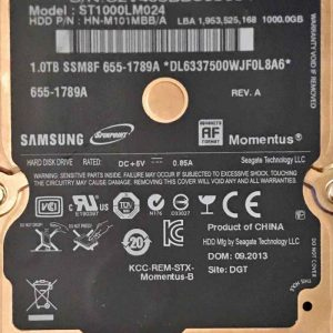 SAMSUNG 1000 GB ST1000LM024 M8 REV-06