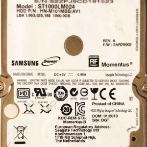 SAMSUNG 1000 GB ST1000LM024 M8 REV-07