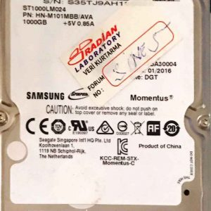 SAMSUNG 1000 GB ST1000LM024 M8-REV-07