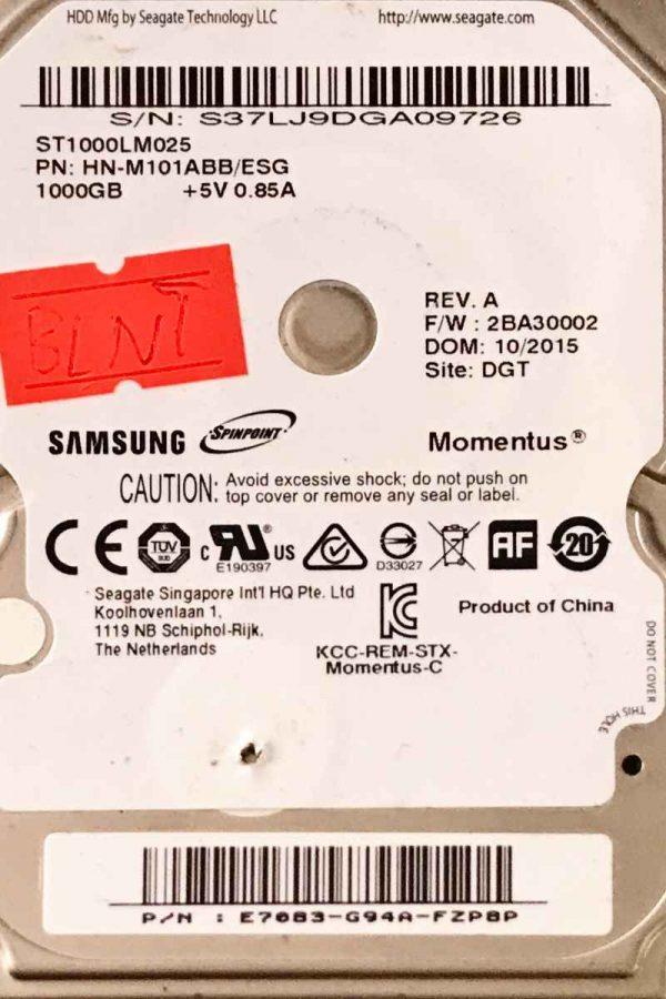SAMSUNG 1000 GB ST1000LM025 M8U R00