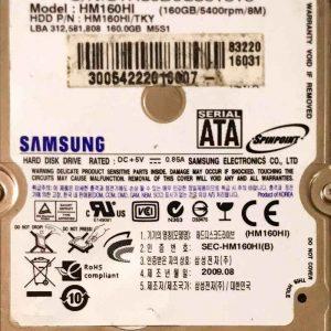 SAMSUNG 160 GB HM160HI MANGO BF4100157A REV-03