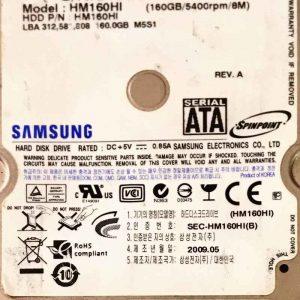 SAMSUNG 320 GB HM160HI MANGO BF41-00157A REV-03
