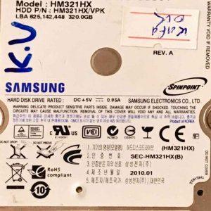 SAMSUNG 320 GB HM321HX M7U2339 REV-01