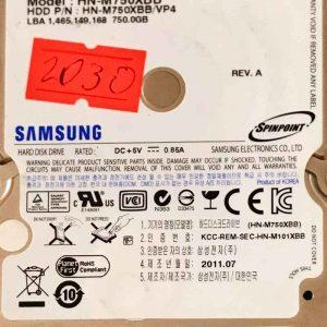 SAMSUNG 320 GB HM750XBB M8 REV-03