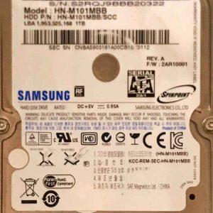 SEAGATE 1000 GB HNM101MBB M8 REV-03