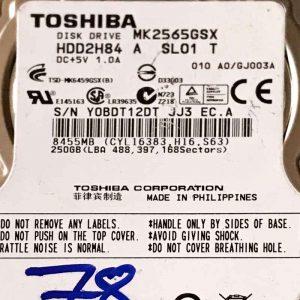 TOSHIBA 1000 GB MK2565GSX G002641A