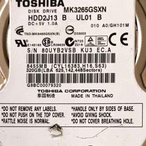 TOSHIBA 1000 GB MK3265GSXN G002706A