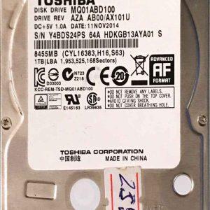 TOSHIBA 1000 GB MQ01ABD100 G003235C