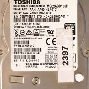 TOSHIBA 1000 GB MQ02ABD100H G3814A