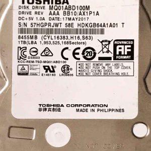 TOSHIBA 200 GB MK2046GSX G002217A