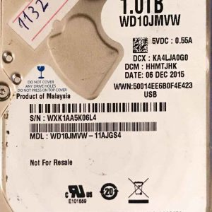 WESTERN DIGITAL 1000 GB WD10JMVW 2060771959000