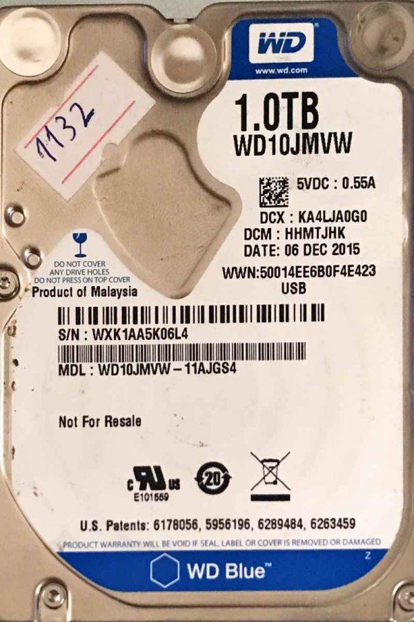 WESTERN DIGITAL 1000 GB WD10JMVW 2060771959000