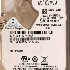 WESTERN DIGITAL 1000 GB WD10JMVW 2060771960000