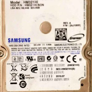 SAMSUNG 320 GB HM321HI MERCURY REV-07