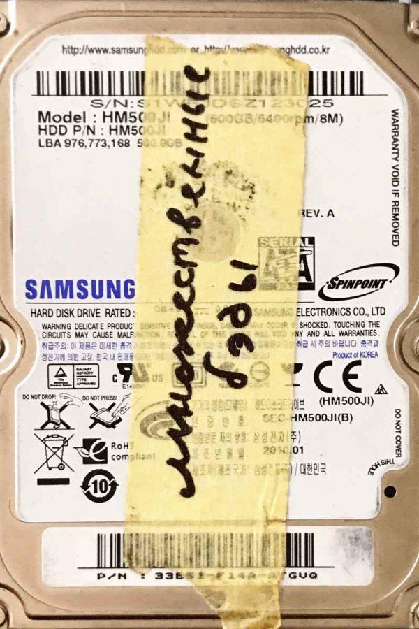 SAMSUNG 500 GB HM500JI M7S2_S1PME REV-04