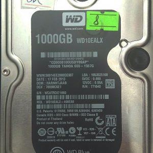 WESTERN DIGITAL 1TB WD10EALX REV A 2060-771640-005