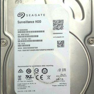 SEAGATE SYRVEILLANCE HDD 3TB ST3000VX006 REV A 100724095