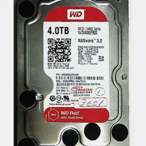 WESTERN DIGITAL 4TB WD40EFRX REV A 2060-771945-002