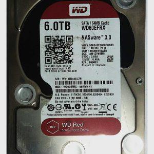 WESTERN DIGITAL 6TB WD60EFRX REV P1 2060-800001-000