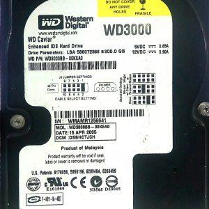 WESTERN DIGITAL 300GB WD3000 REV A 2060-701314-001