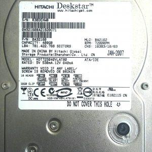 HITACHI HDT725040VLAT80