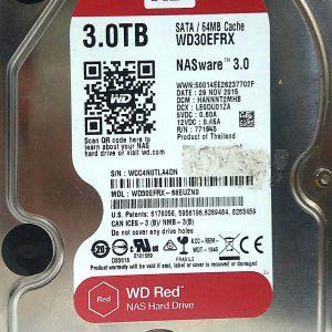 WESTERN DIGITAL 3TB WD30EFRX REV A 2060-771945-002